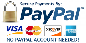 Pay by Credit Card or PayPal